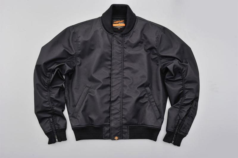 【94770】DAYTONA DH-006 ナイロンツイルMA-1ジャケット ブラック M/L/XL ハーレーアパレル