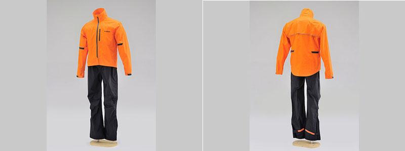 【96770】 HR-001 マイクロレインスーツ オレンジ S/M/L/XL/3L/BL ハーレーアパレル