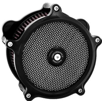 【エアクリーナー】 SUPER GUS エアクリーナー ブラック 10100826 ハーレーパーツ