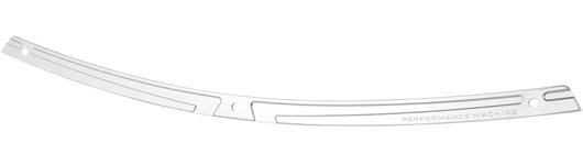 【Performance Machine】 SCALLOP ウインドシールドトリム :クローム 23500210 ハーレーパーツ