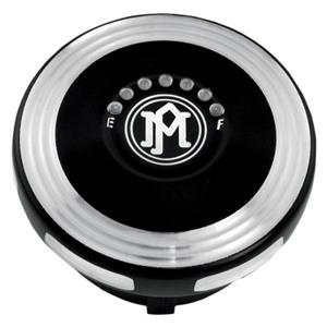 MERC LEDフューエルゲージキャップ(コントラストカット) :1996年以降モデルのタンクでフューエルゲージ装着車に適合