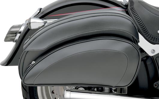 【サドルマン製】 CRUIS'Nデラックス サドルバッグ (サドルバッグサポート無し) ハーレーパーツ