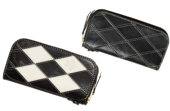 【racw-4】 DEGNER Leather Long Zip Wallet ハーレーパーツ