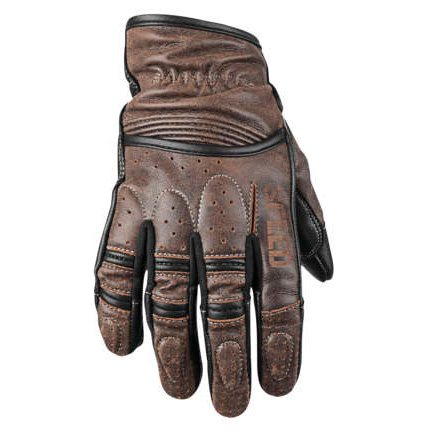 【878621】RUST AND REDEMPTION LEATHER GLOVES Brown S/M/L/XL/2XL ハーレーパーツ