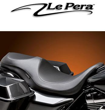 【ラペラ製】 ※送料無料※ Le Pera VILLAIN ツーリングモデル用 (2002~07年FLHT、FLTRモデルに適合) ハーレー