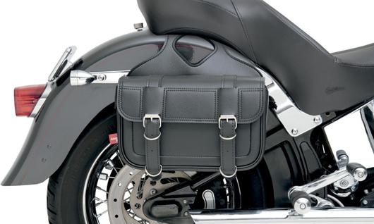 【サドルバッグ】 All American Rider フラップ オーバー サドルバッグ (ラージ) ハーレーパーツ