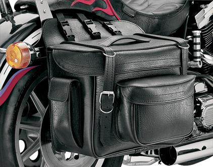 【サドルバッグ】 All American Rider XXXL ボックススタイル デタッチャブルサドルバッグ (プレーン) ハーレーパーツ