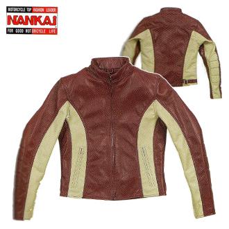 ハーレーアパレル【ジャケット】 レディース'60sジャケット ワインレッド