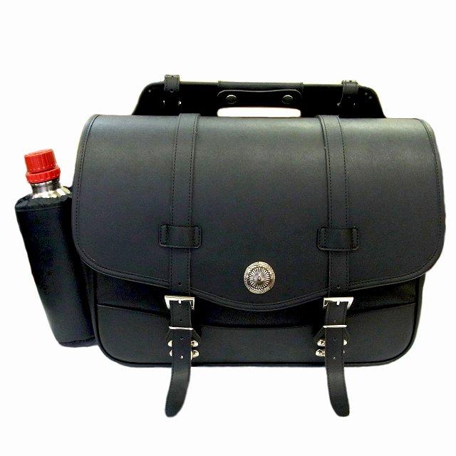 【xc-020】 Xross SADDLE SINGLE サドルバッグ サイドバッグ ブラック XC-020 ハーレーパーツ