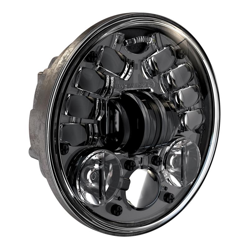 【20011194】 LEDヘッドライト ブラック 5-3/4インチ ハーレーパーツ