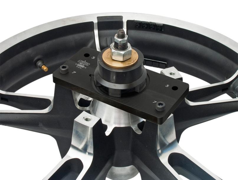 【38020062】 シールドホイールベアリングツール サポートプレート 2014年以降ツーリングモデルでキャストホイール ハーレー工具