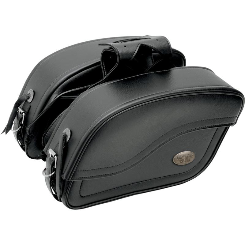 【35010646】 All American Rider FUTURA スラントサドルバッグ プレーン ハーレーパーツ