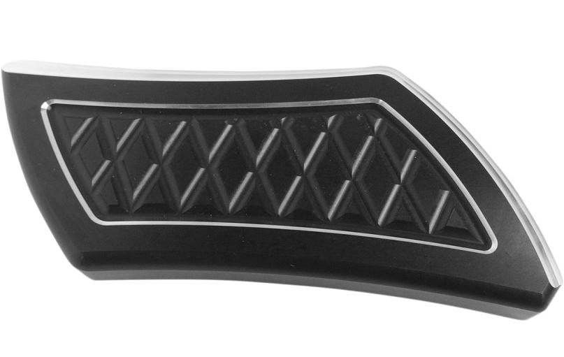 【16100361】 ブレーキペダルカバー ROLEX/ブラック ハーレーパーツ