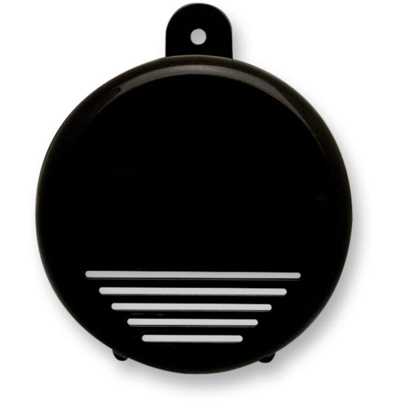 【21070261】 MINI BEAST エアホーン グロスブラック ハーレーパーツ