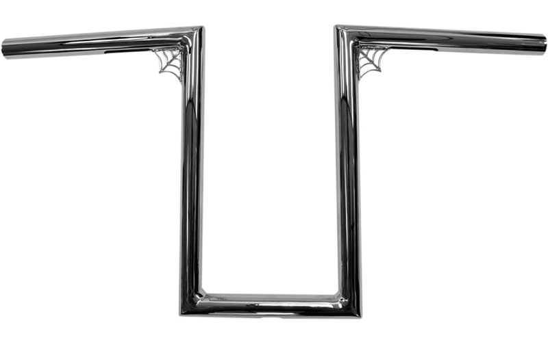 【06012291】 WEB Zバー クローム/12インチ ハーレーパーツ