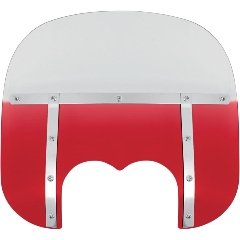 【23130124】 13 FATSスクリーン Memphis Shades FXDF用 Ruby ハーレーパーツ