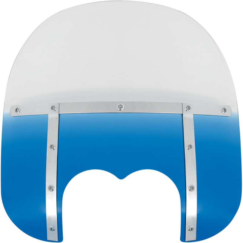【23130131】 15 FATSスクリーン Memphis Shades FXDF用 Blue ハーレーパーツ
