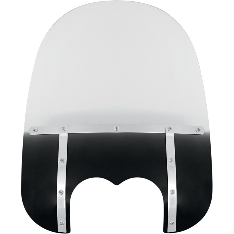 【23130147】 21 FATSスクリーン Memphis Shades FXDF用 Black ハーレーパーツ