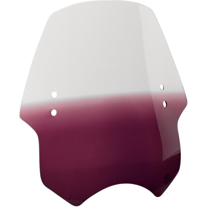 【mem1714】HELL CAT ウインドシールド Purple ハーレーパーツ