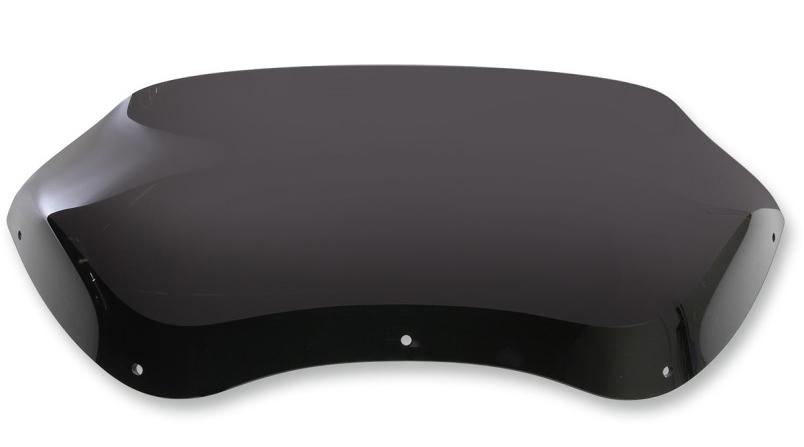 【23100595】 SPOILER ウインドシールド 5.5インチ Dark smoke ハーレーパーツ