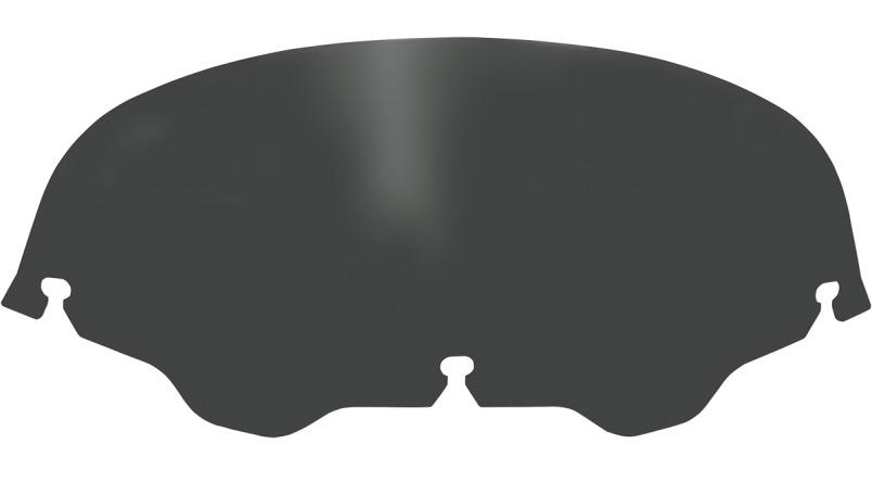 【23100003】 ウインドスクリーン Memphis Shades 5インチ Black ハーレーパーツ