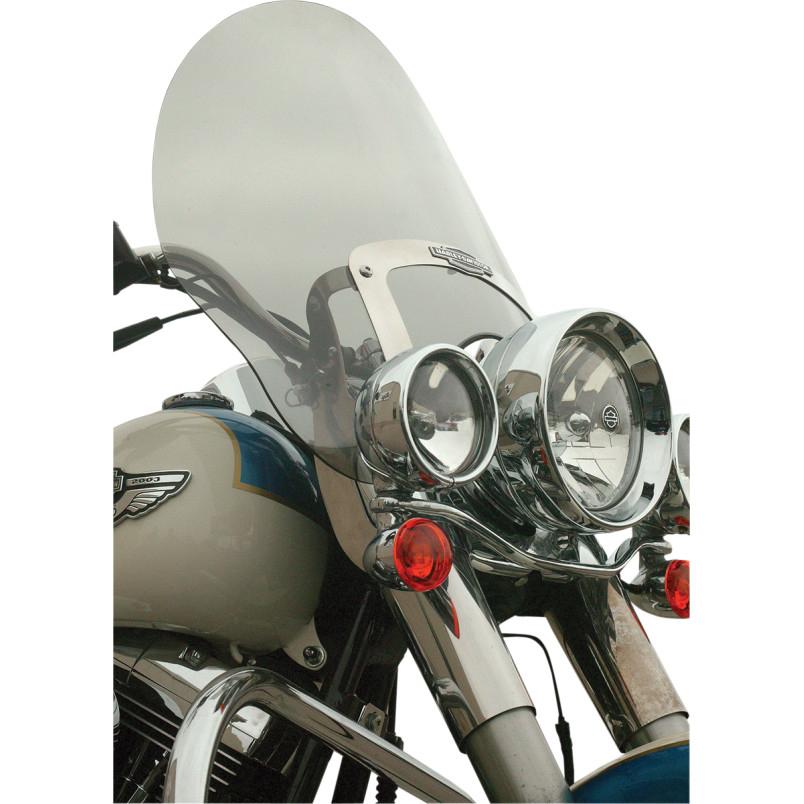 【23100345】 FLARE BILLBOARD ウインドシールド FLS FLSTN FLSTF用 ライトスモーク ハーレーパーツ