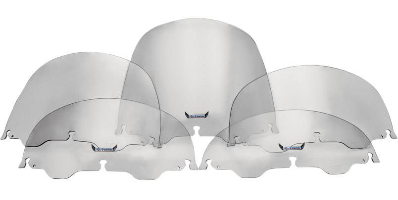 【s1356】リプレイスメント スモーク ウインドシールド 高さ:6インチ ハーレーパーツ
