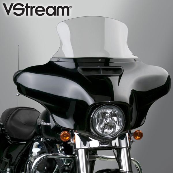 【552517】 VStream ウインドシールド クリア 高さ:11.5インチ ハーレーパーツ