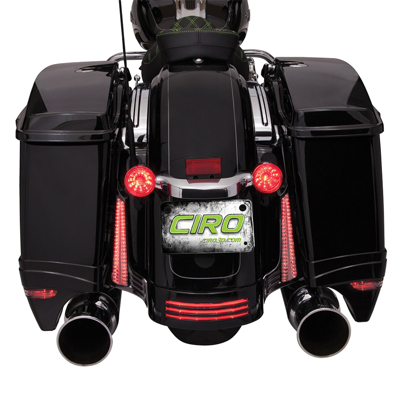 【67800368】 ハーレー純正パーツ LEDキングツアーパック・ブレーキ・ターン・テールライトキット