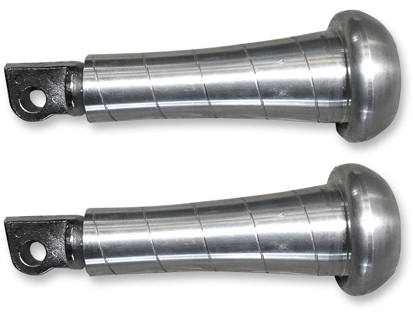 【16201688】SLUGGER フットペグ ロウ オス型マウント ハーレーパーツ