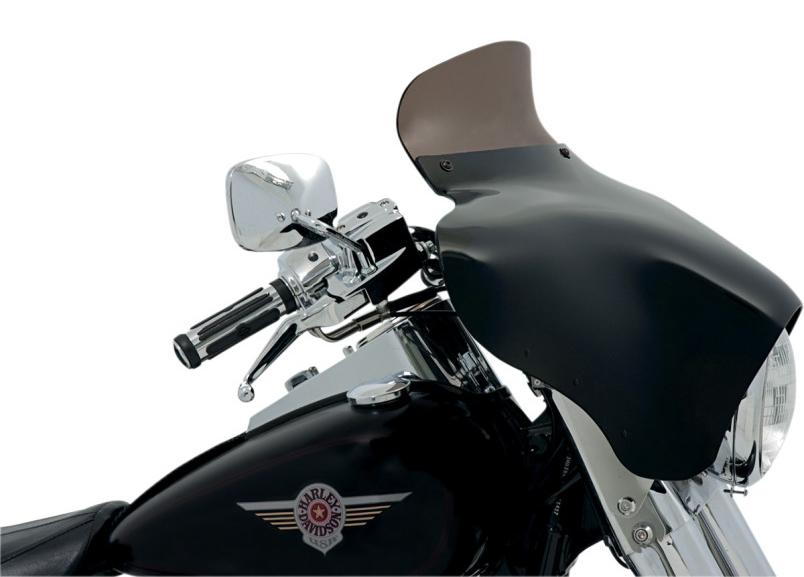 【23500167】SPOILER ウインドシールド BATWING フェアリング用 スモーク 5インチ (127mm) BATWING フェアリング装着車 ハーレーパーツ