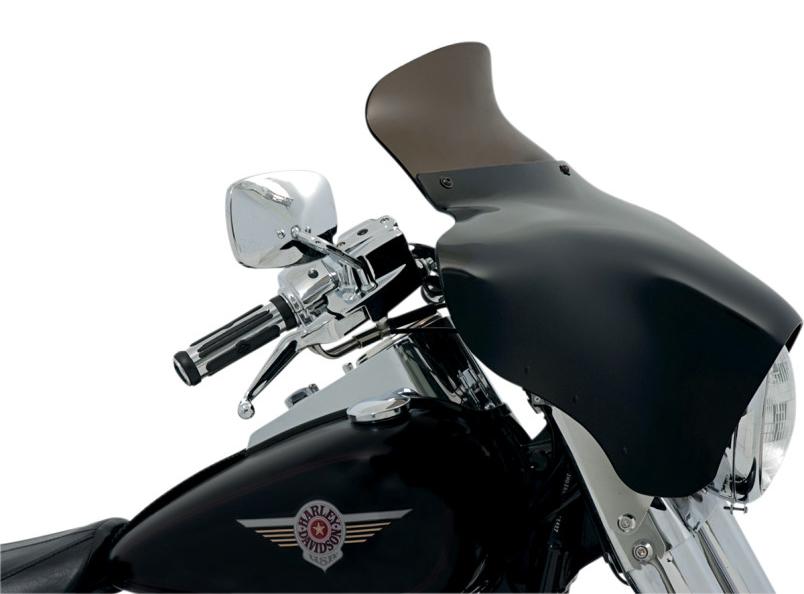 【23500135】SPOILER ウインドシールド BATWING フェアリング用 スモーク 6.5インチ (165mm) BATWING フェアリング装着車 ハーレーパーツ