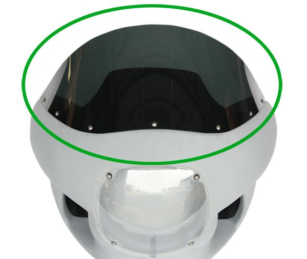 【23100632】リプレイスメントウインドスクリーン RWD フェアリングキット用 RWD フェアリングキット装着車 ハーレーパーツ
