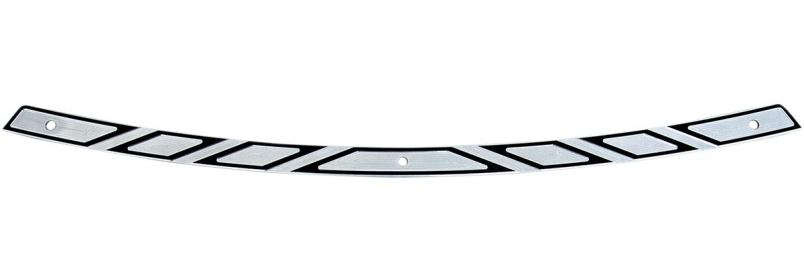 【23500319】 FLARE SERIES ウインドシールドトリム AZTEC ブラックコントラスト 2014年以降FLHT、FLHX ハーレーパーツ