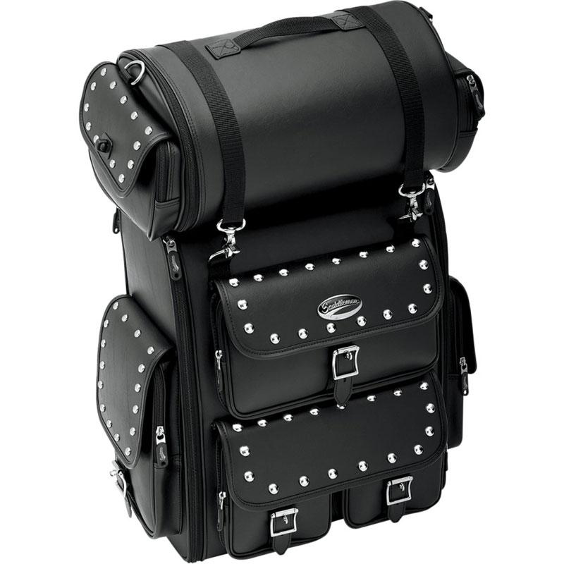 【35150097】 EX2200/2200S シーシーバー バッグ EX2200S/スタッズ ハーレーパーツ