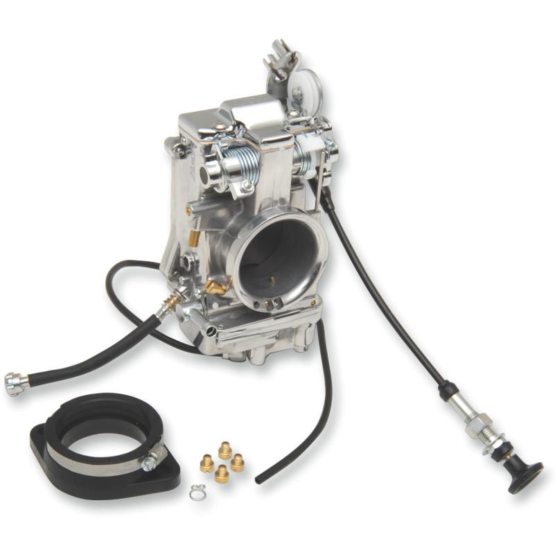 【482p】 HSR48mm キャブレター 48mm/ポリッシュフィニッシュ ハーレーパーツ