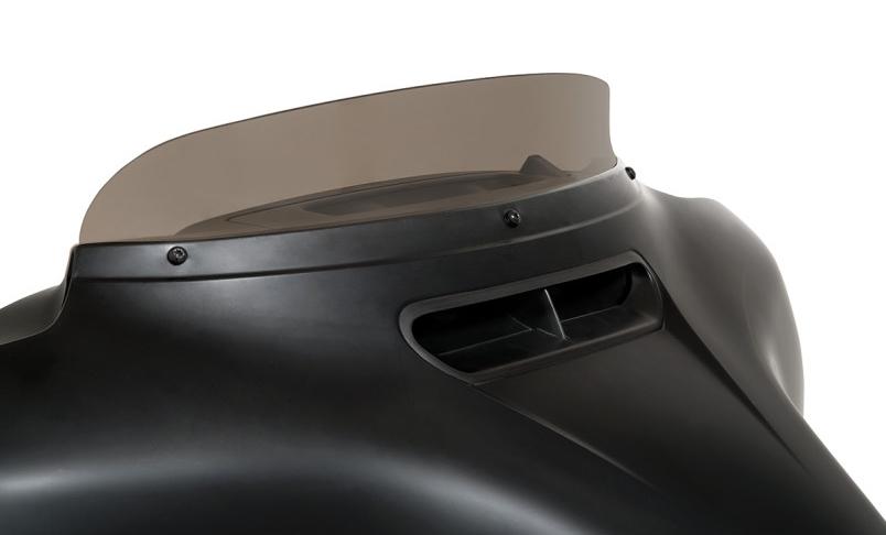 【23100674】 SPOILER ウインドシールド スモーク 3インチ (7.6cm) ハーレーパーツ