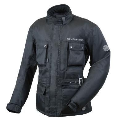 【rr7685bk】 デュアルテックスウインタートレイルツーリングジャケット ブラック M/L/LL/XL ハーレーパーツ