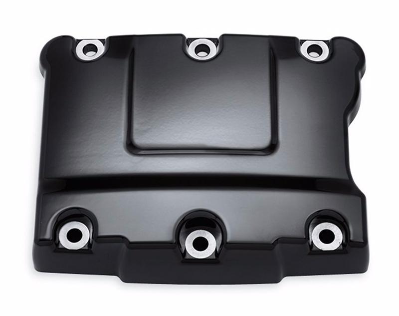 【17707-11】 グロスブラック ロッカーボックスカバー:1999~17年ダイナモデル、2000~17年ソフテイルモデル、1999~16年ツーリング、トライクモデルに適合