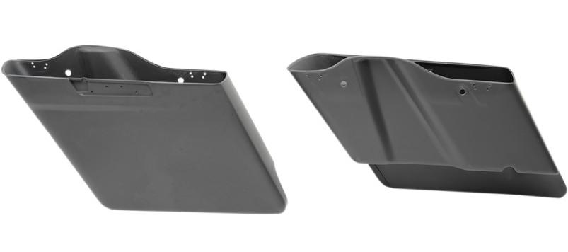 【35011051】 4インチエクステンド サドルバッグ 左側 2014年以降ツーリングモデルでハードサドルバッグ装着車 ハーレーパーツ