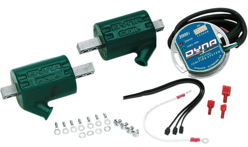 【21010028】DYNA 2000i イグニッションモジュールキット Single-plug / single-fire (with DC3-1 coil) ハーレーパーツ