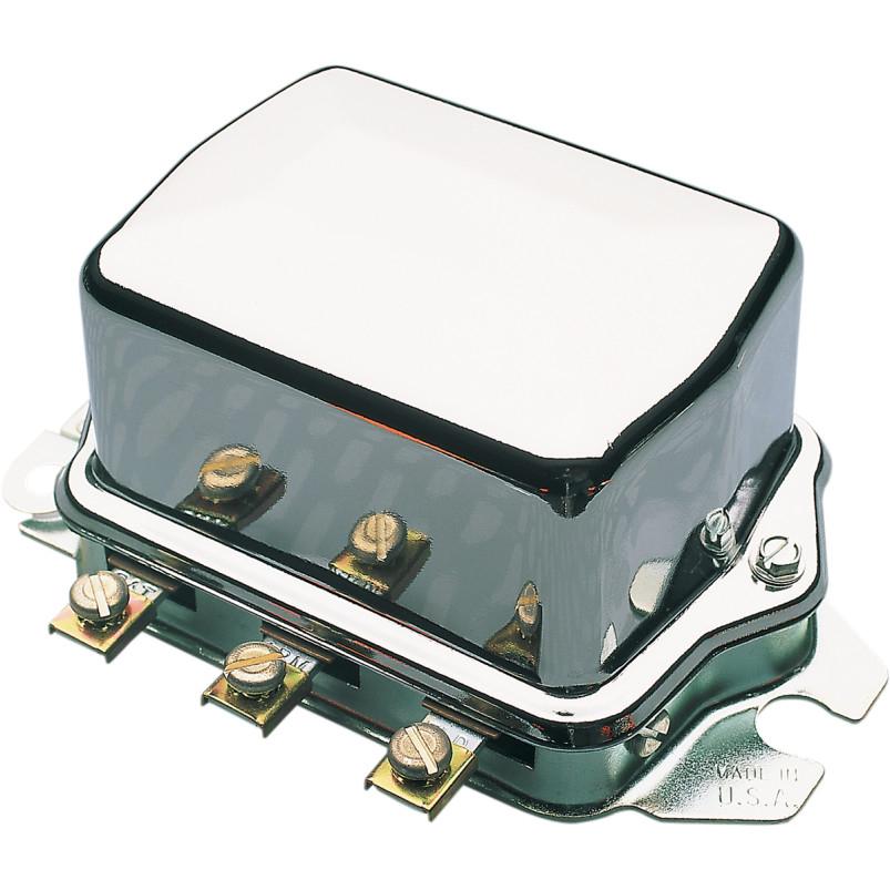 【201105c】 クローム メカニカルレギュレター 1966~69年FL/FLH、1967~78年XLHに適合 (12V車) ハーレーパーツ