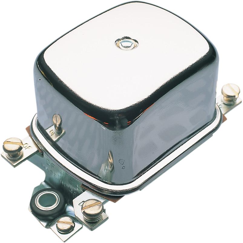 【201107c】 クローム メカニカルレギュレター 1965~66年XLH、1965~77年XLCHに適合 (12V車) ハーレーパーツ