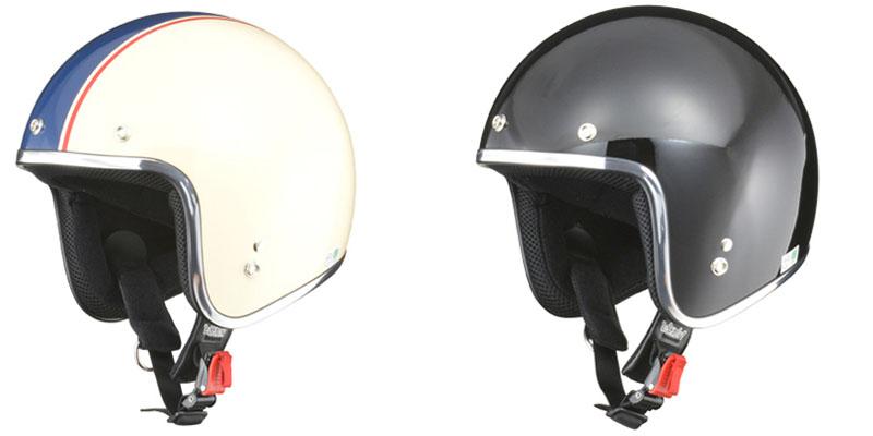 【bc-6】 BARTON BC-6 スモールジェットヘルメット アイボリー×ネイビー、ブラック、マットブラック、ブラック×ホワイトフレア、ブラック×オレンジ