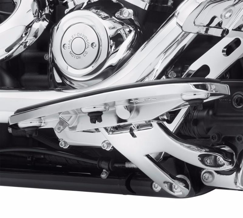 【50500696】 ライダーフットボードマウント クローム 2018年以降FLFB、FLFBSでライダーフットボード装着車 ハーレー純正パーツ