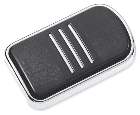 【42712-04】 ストリームライナー ブレーキペダルパッド:1980年以降ツーリング、トライクモデル、1986~17年FLソフテイルモデル、2012~16年FLD