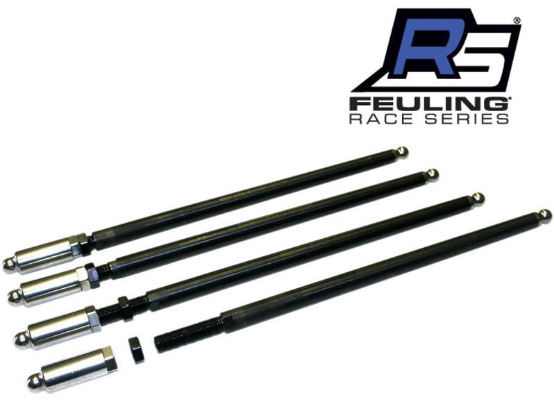 【09280010】 RACE SERIES アジャスタブル プッシュロッド:1999~17年ツインカムモデルに適合