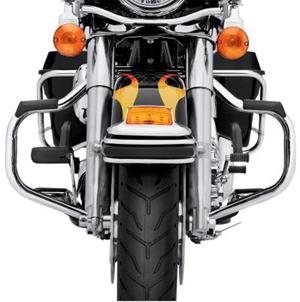 【49155-09A】 マスタッシュ・エンジンガード:2009年以降ツーリング、トライクモデルに適合 (但しロードグライドモデルは除く)/クローム