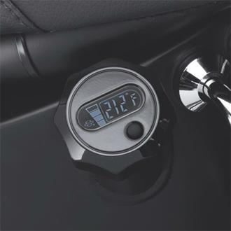 【63055-09】 LCD油温計付オイルディップスティック ハーレー純正パーツ