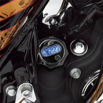 【63030-09】 LCD油量&油温計付ディップスティック /ブラック ハーレー純正パーツ